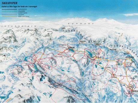 meilleurs domaines de ski de fond
