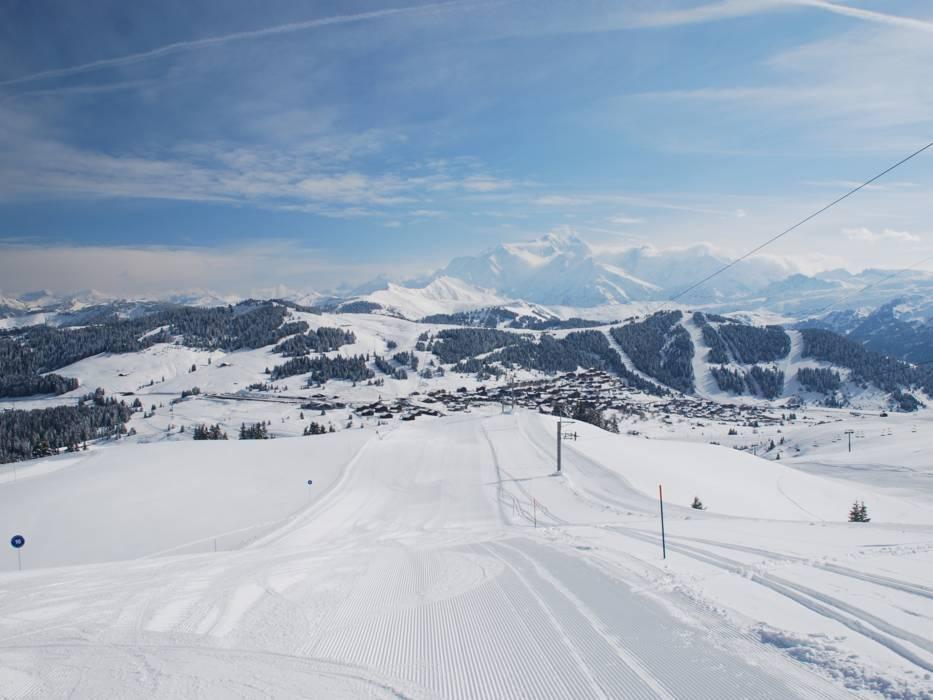 Domaine skiable espace diamant les saisies notre dame de bellecombe praz sur arly flumet crest - Office de tourisme les saisies ...