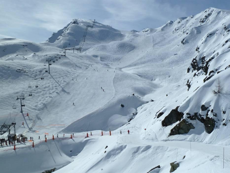 Domaine skiable la plagne paradiski station de ski la plagne paradiski - Office tourisme la plagne centre ...